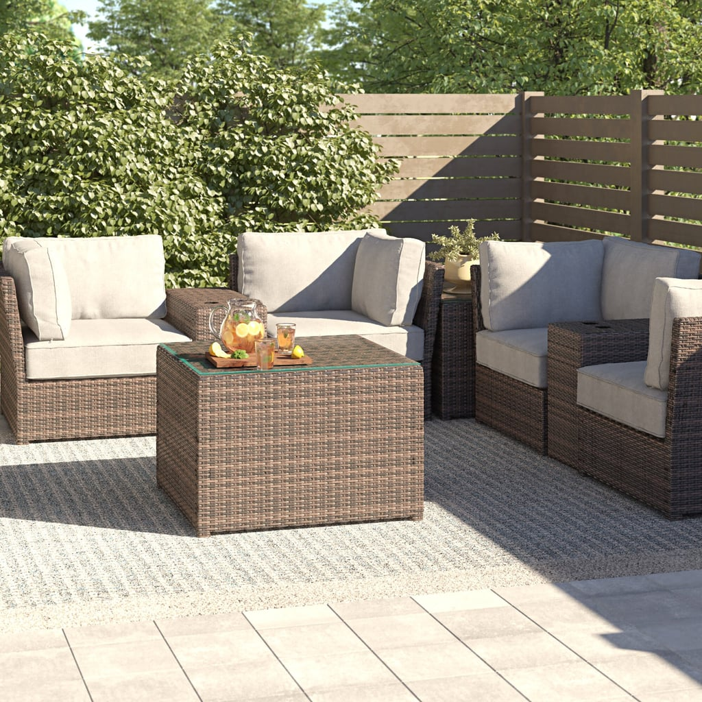 Widener 4 Piece Seating Group with Cushions