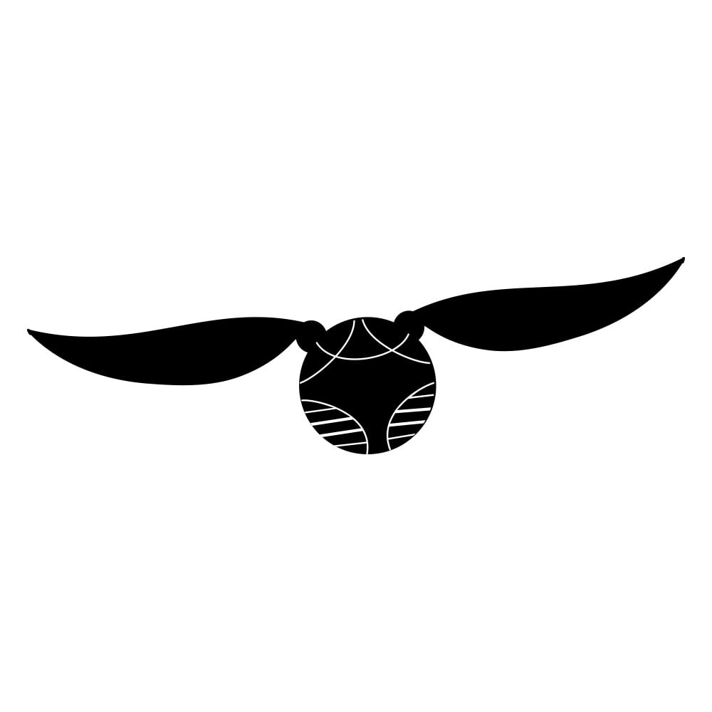 picture about Golden Snitch Wings Printable known as Snitch Cost-free Harry Potter Pumpkin Templates POPSUGAR