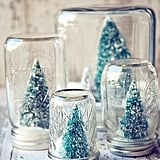Winter Woodland Snow Globes