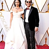 Matthew Mcconaughey and Camila Alves at the 2018 Oscars