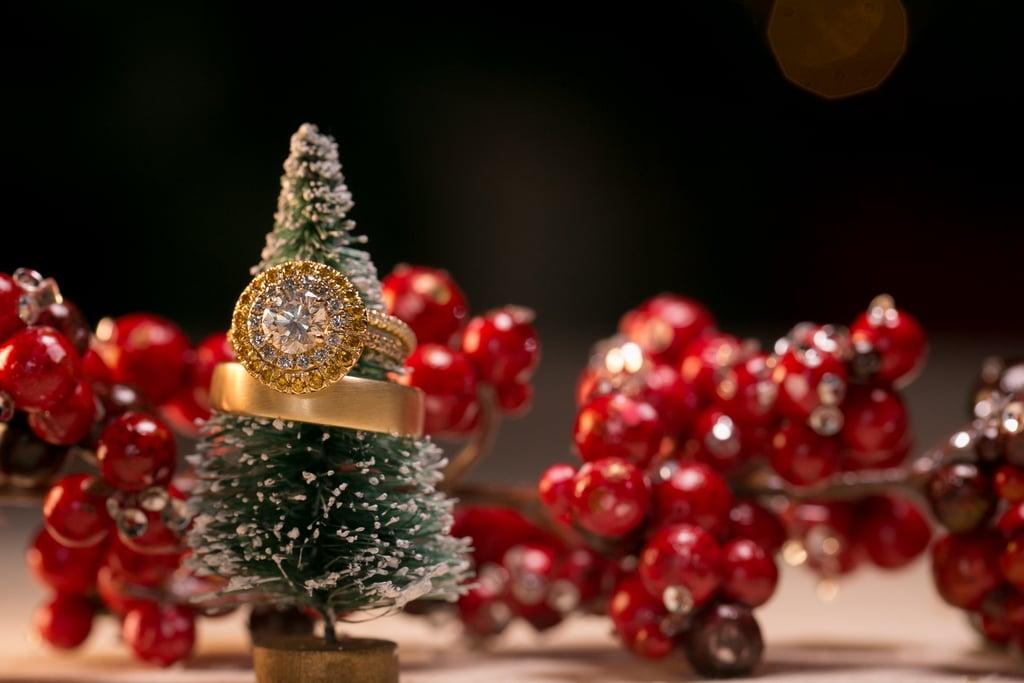 Miniature Christmas Tree Ring Holder