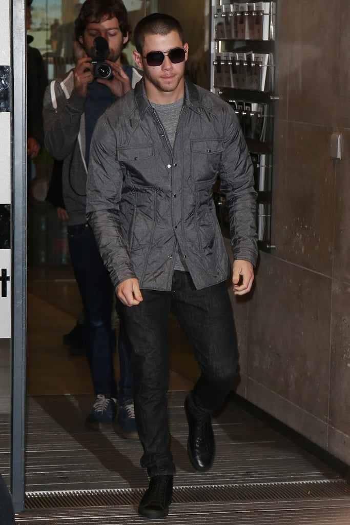 Nick Jonas Out in London April 2016