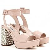 Miu Miu Embellished Sandals ($990)