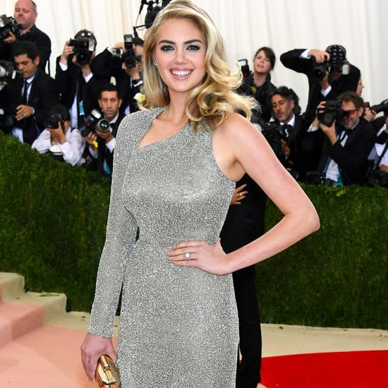 Kate Upton Engagement Ring Pictures at 2016 Met Gala