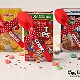 DIY Cereal Valentines