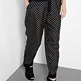 A more casual polka-dotted pant for your Sunday errands. Sonia by Soia Rykiel Polka Dot Trousers ($378)