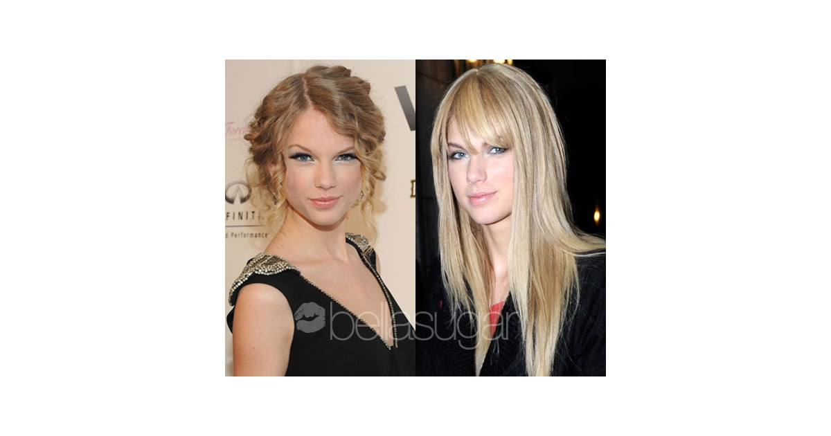 taylor swift with straight hair popsugar beauty
