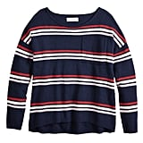 POPSUGAR Pocket Pullover Sweater