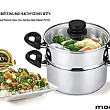 Mockins Premium Heavy-Duty Stainless-Steel Steamer