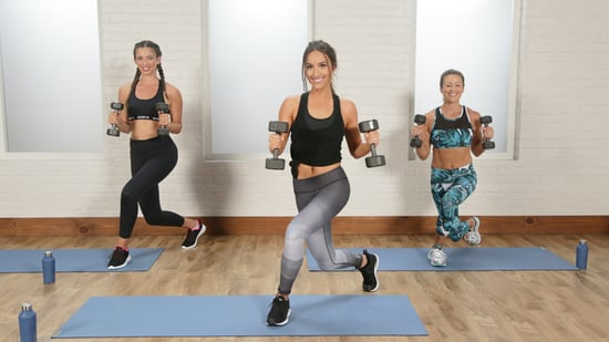 Fat burning fitness routine