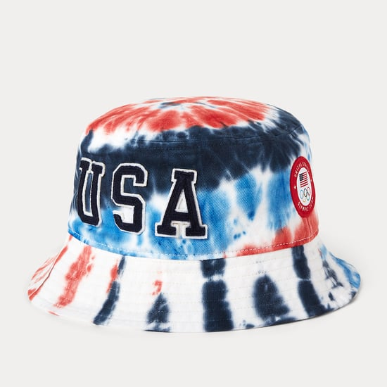 Shop the Tie-Dye Team USA Olympic Bucket Hat by Ralph Lauren