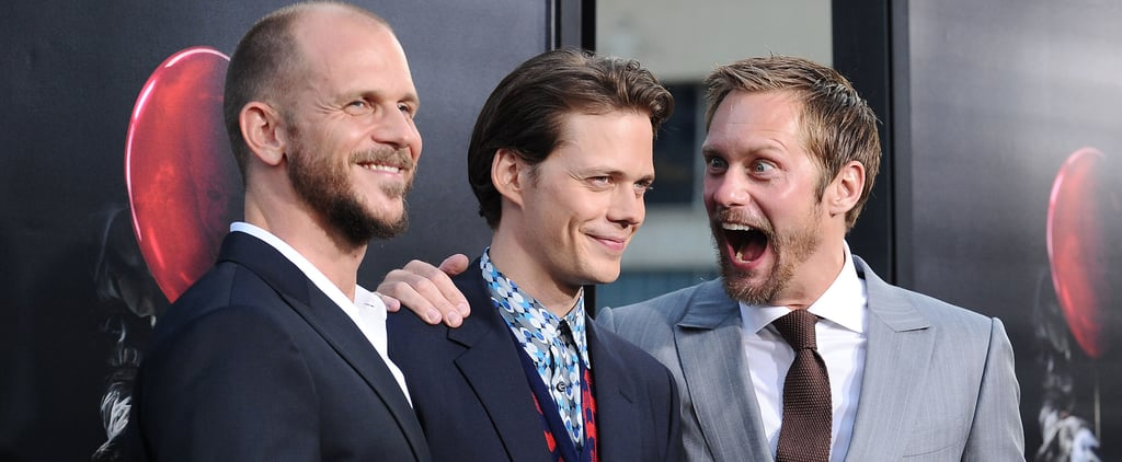 Alexander Skarsgard and Bill Skarsgard at It Premiere LA