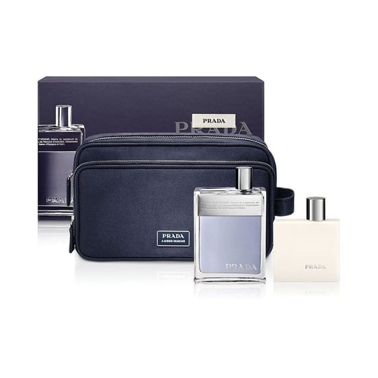 63779f7fc1a5 The Prada Amber Pour Homme Gift Set ( 85) includes the classic fragrance,  shave