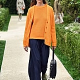 At the Tory Burch Spring 2019 show.