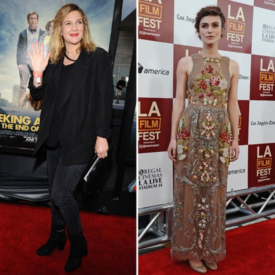 Keira Knightley Premieres Her Comedy With the Help of Drew Barrymore