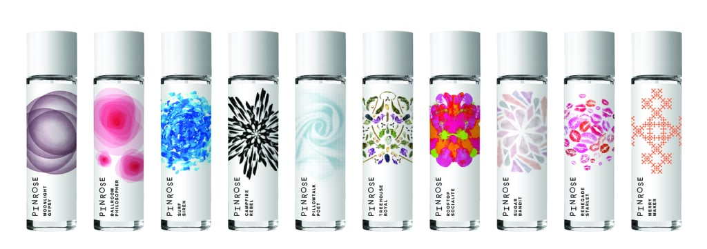 PS: The artwork on the packaging is really beautiful; how did you select the pieces for the scents? Pinrose: The artwork on each of the bottles is actually fractal geometry, which has a lot of self-similarity. We love fractals because they represent the intersection of art and science — just like our fragrances. We wanted to highlight unique colors and textures for each fragrance, as well. Our company name, Pinrose, is actually the combination of our two favorite fractals: Penrose tilings and the Pinwheel fractal. Look 'em up . . . they're both beautiful. PS: Of all the Pinrose scents, which are your personal favorites?  CL: Oh man . . . It's hard to choose just one! I actually love to layer Treehouse Royal ($50) and Sugar Bandit ($50). It gives me a special sexy, confident swagger when I'm going into a big meeting and have no room for mistakes or self-doubt.   ES: I switch them up often based on my mood, the weather, and what I have happening that day. Moonlight Gypsy ($50) has been my Winter go-to. Whenever I need a little energy pick-me-up, I rely on Merry Maker ($50). It is an incredible scent in warm weather because it's both playful and confident, and I get compliments on it every time I wear it.