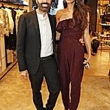 Amal Clooney's Gold Heels