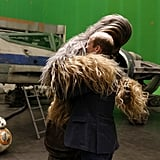 Hugging Chewbacca