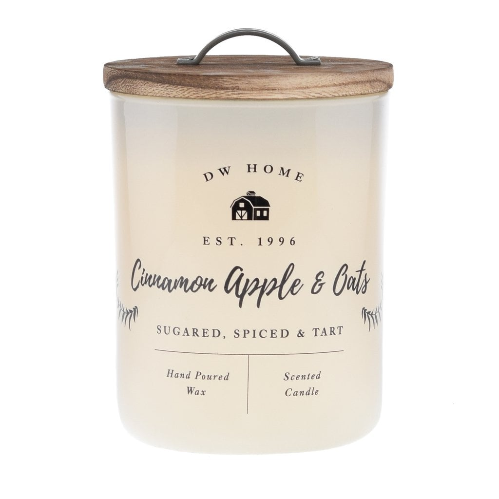 DW Home Cinnamon Apple & Oats Candle