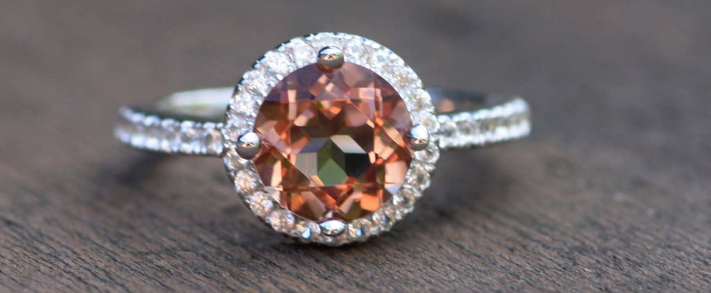 A Zultanite Engagement Ring Changes Colors Before Your Eyes