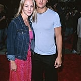 In June 2000, Peter Facinelli and Jennie Garth checked out the LA premiere of Me, Myself & Irene.