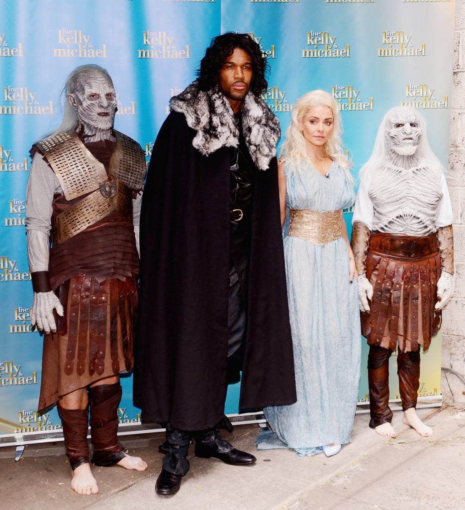 The Crew as Game of Thrones | Kelly Ripa and Michael Strahan's ...