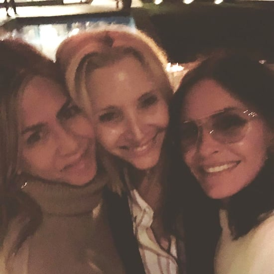 Jennifer Aniston and Courteney Cox Hanging Out June 2019