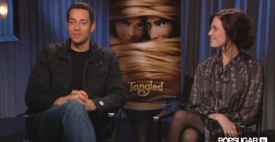 Zachary Levi and Mandy Moore Video Interview For Disney's Tangled Animated Film