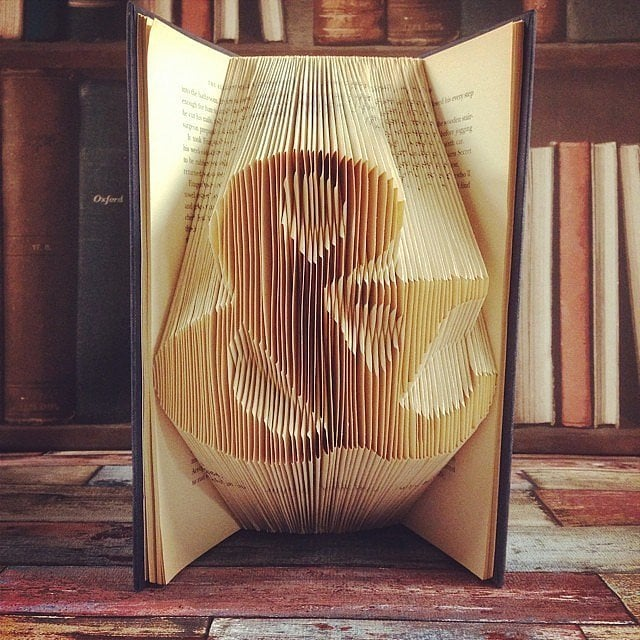 Because book art is the best art.