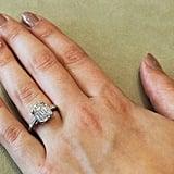 4.57 Carat Vintage Emerald-Cut Diamond Ring (Sold)