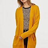 H&M Mustard Knit Cardigan