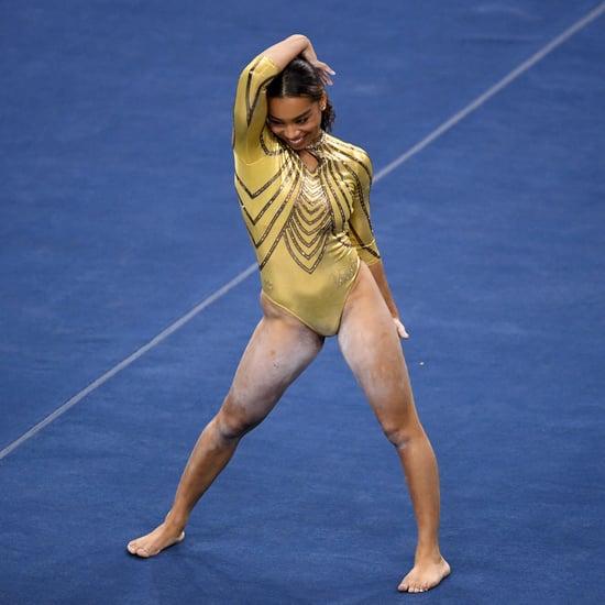 UCLA Gymnast Margzetta Frazier Surprised by Janet Jackson
