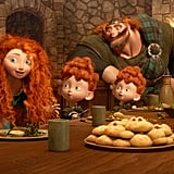 Merida is the only Disney princess who doesn't have an American accent.