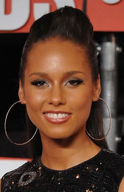 Alicia Keys's Makeup at the 2009 MTV VMAs