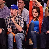 An enthusiastic fan, Olivia Wilde reminds us that mobility is important should your spectator style require lots of jumping, waving, or fist-pumping.