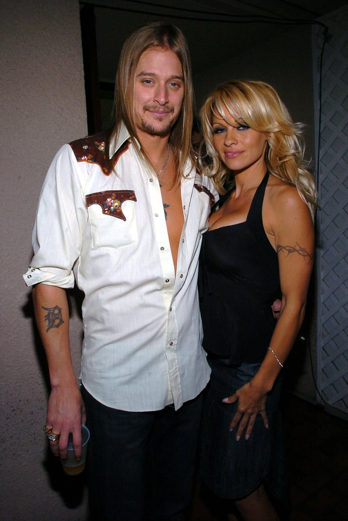 Kid Rock and Pamela Anderson — 4 Months