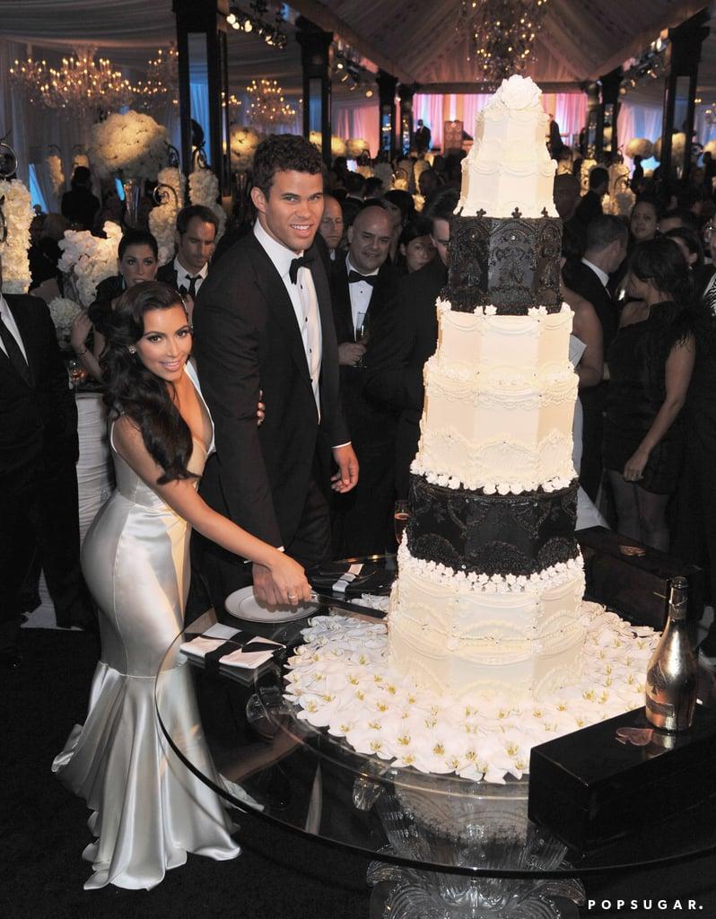 Kim Kardashian S Weddings Popsugar Celebrity