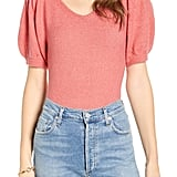 Rachel Parcell Puff-Sleeve Sweater