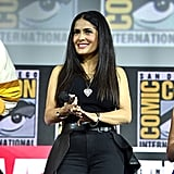 Pictured: Salma Hayek at San Diego Comic-Con.
