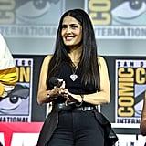 Pictured: Salma Hayek at San Diego Comic-Con.