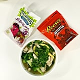 Our Golden Globes diet was varied, but fair. Healthy soup followed by lollies. Look, it made sense at the time.
