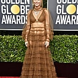 Gwyneth Paltrow's See-Through Dress at the 2020 Golden Globes