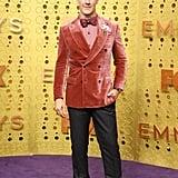 James Van Der Beek at the 2019 Emmys