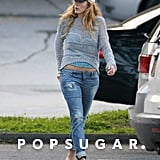 Blake Lively made her way to the car after grocery shopping trip with Ryan Reynolds in New York.