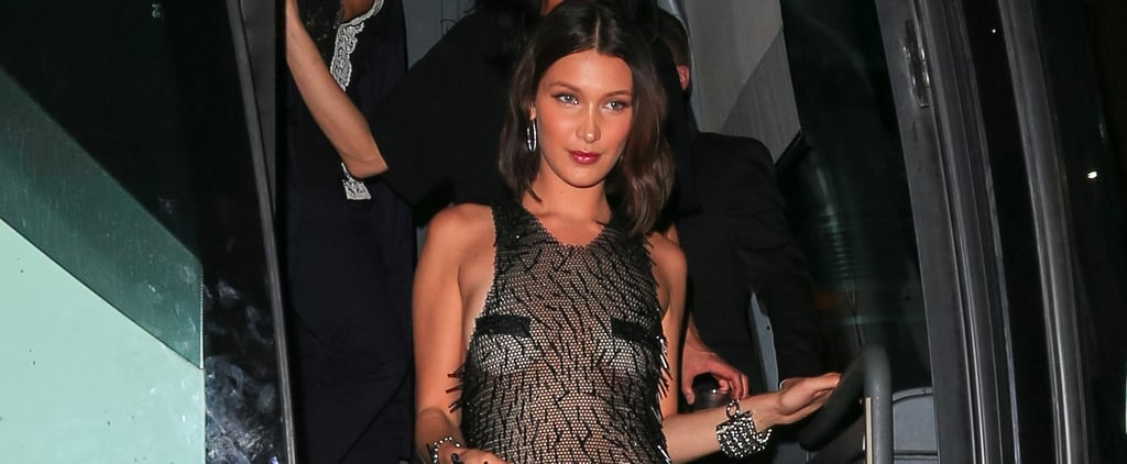 Bella Hadid Slipped Into a Sexy Little Nothing of a Dress For the Met Gala Afterparty