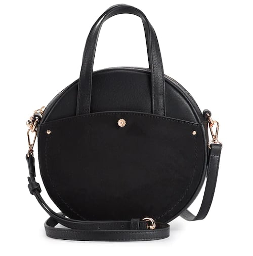 Round Crossbody Mini Bag