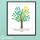 Printable Child's Handprint Tree