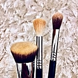 Makeup Brushes Before Cleansing