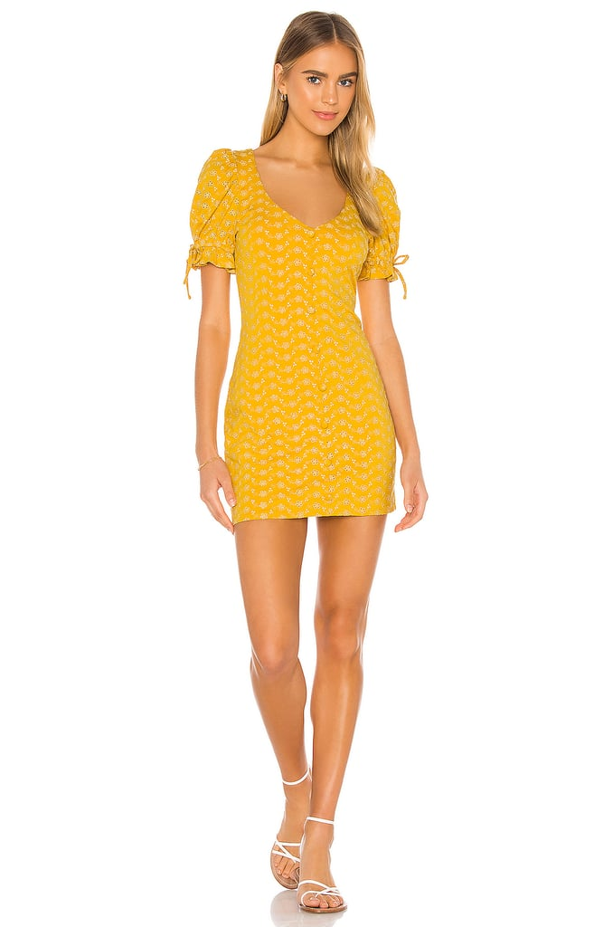 Tularosa Penny Dress in Golden Yellow