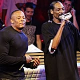 10. Dr. Dre and Snoop Dogg's Reunion